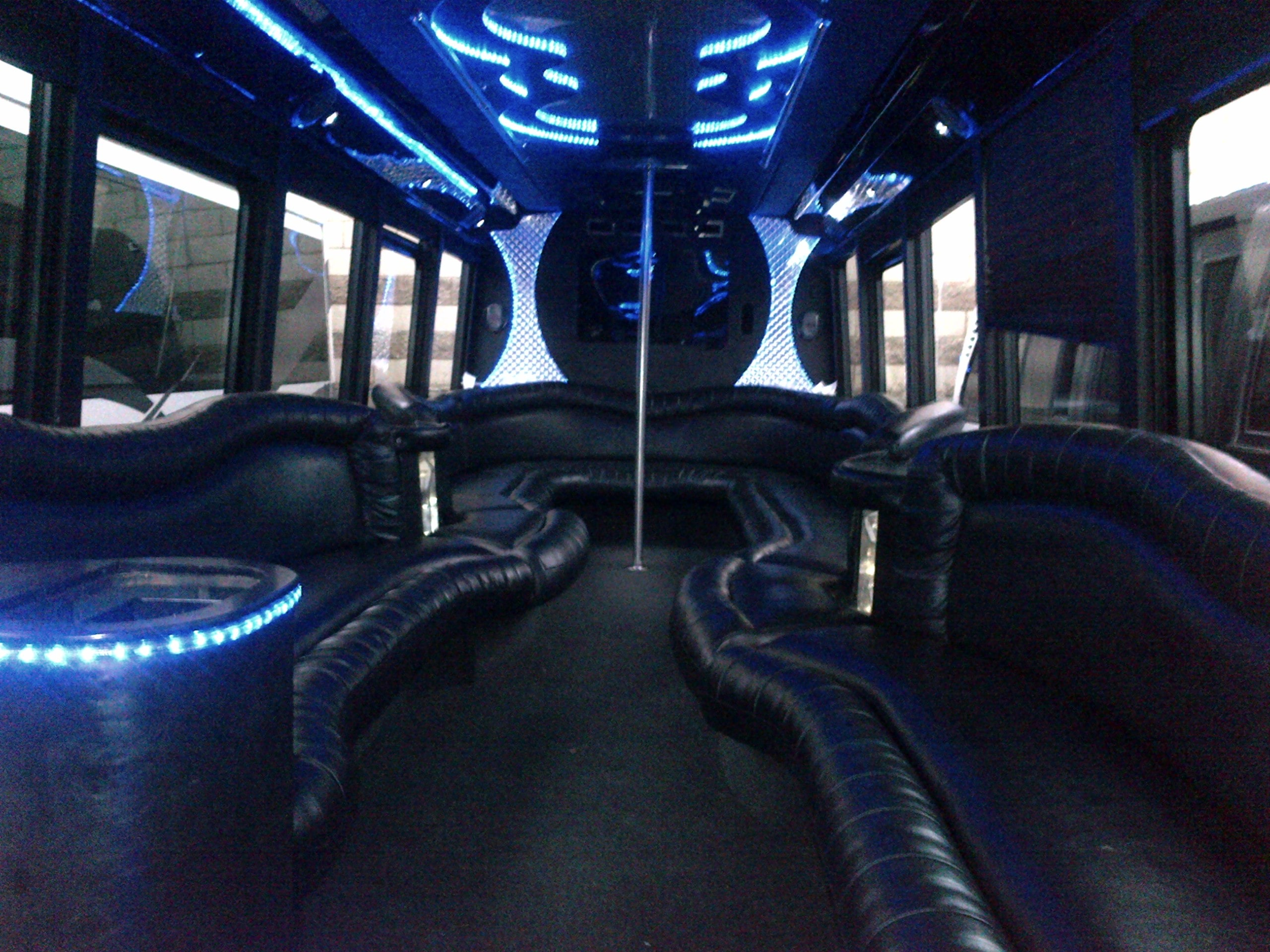 rent a party bus in Los Angeles