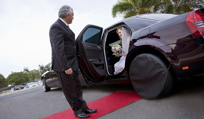 limo wedding service